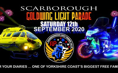 Scarborough Gold Wing Light Parade 2020