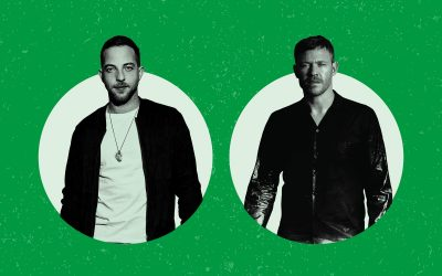 James Morrison and Will Young play Dalby Forest