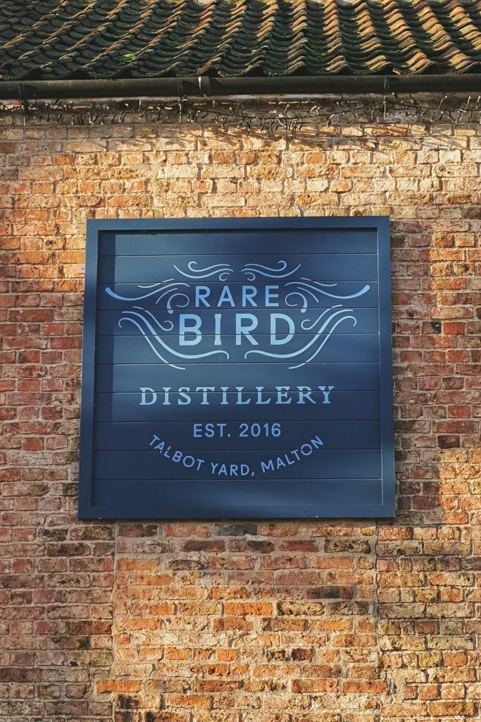rare bird, gin, malton, food, north, yorkshire