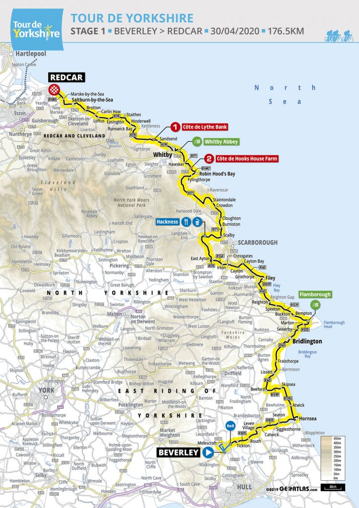 Tour de Yorkshire, cycling, Yorkshire, East, North, Self, catering, holiday, accomodation, cottages