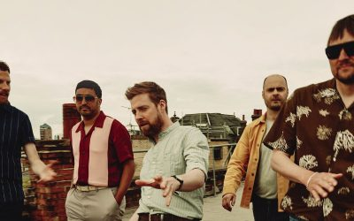 Kaiser Chiefs play Dalby Forest