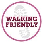 NYMNP Walking friendly logo, walking, walks from the cottage, walks, yorkshire